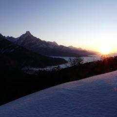 Mulde view point, lever de soleil