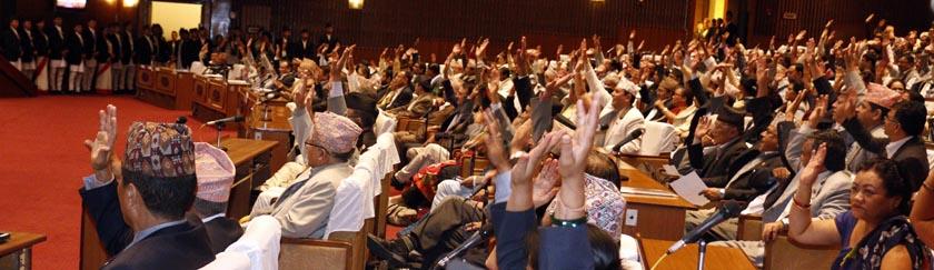 Vote des droits fondamentaux par l'assemblée constituante