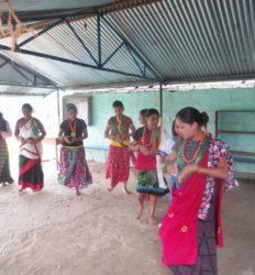 (2014) danses traditionnelles à l'école Fewa