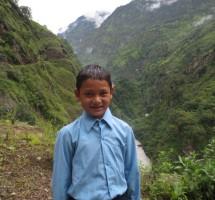 Ajay, à son départ de Chyamche