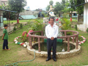 Directeur de l'Ecole Fewa de Pokhara