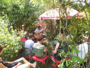 Musique au jardin de la Chapelle