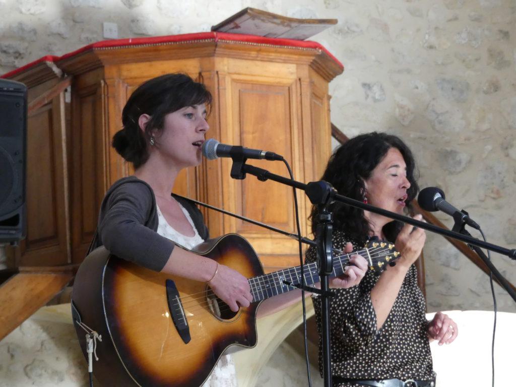 Concert au Temple de GArrigues