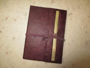 Carnet en papier Lokta