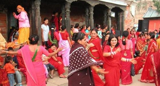 Teej, la fête des femmes