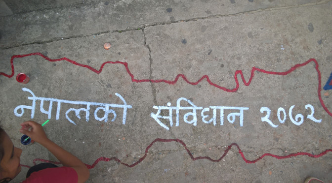 Le Népal se dote enfin d'une Constitution